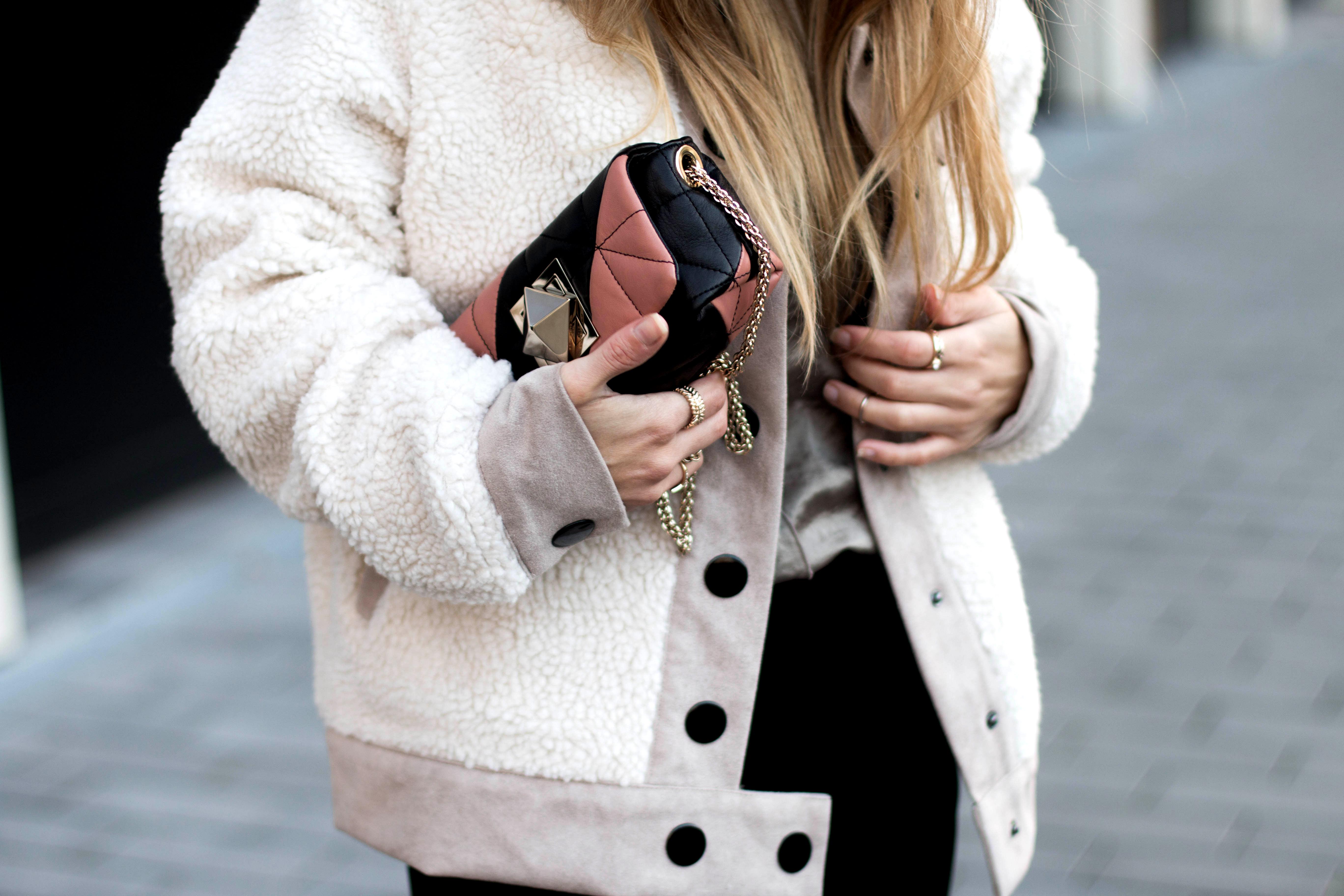 zara-teddy-shearling-jacket-fw-16-streetstyle-monnier-freres-sonia-rykiel-bag-le-copain-quilted-bag