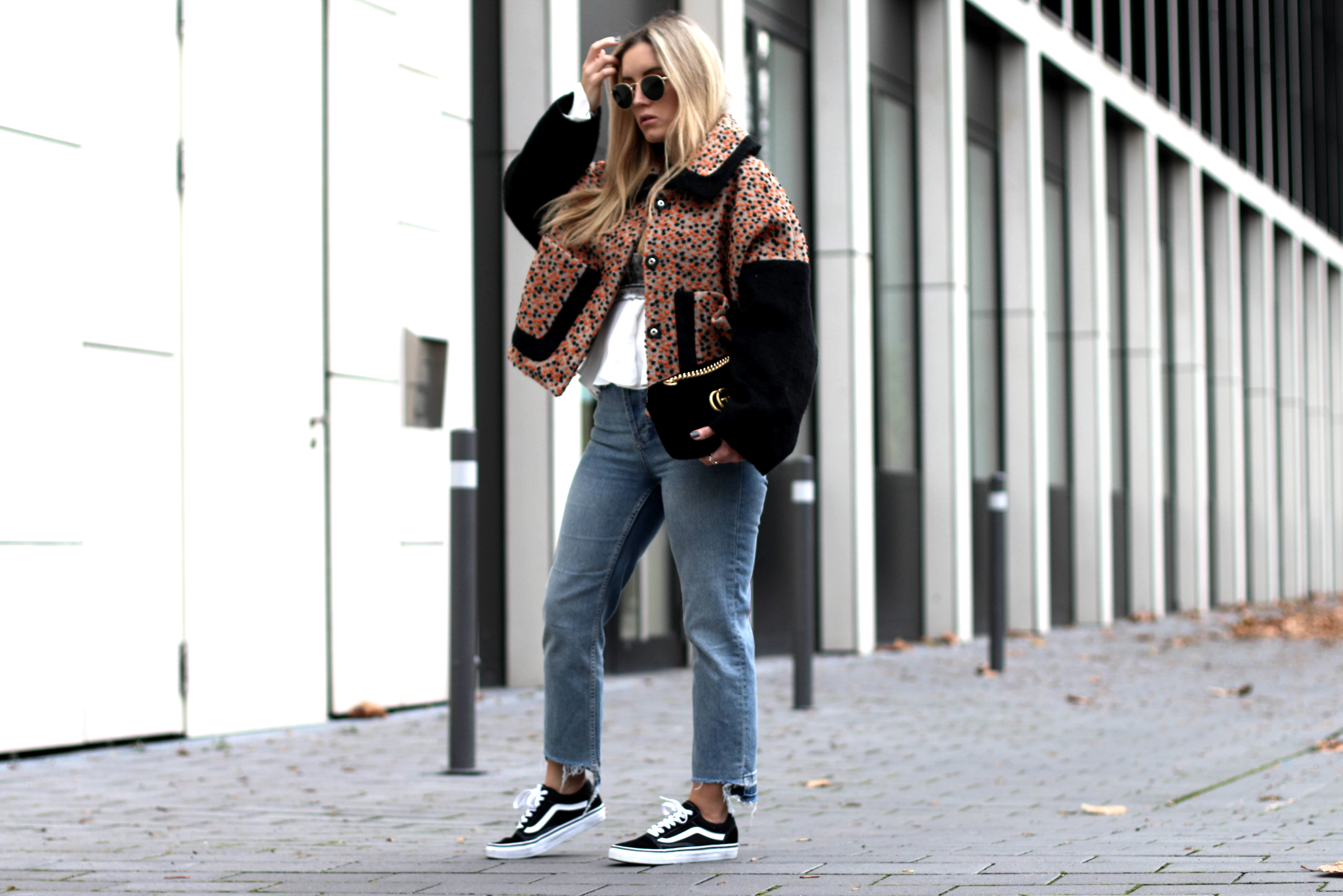 Oversized Jacket x Vans Old Skool. u2022 Fashiontwinstinct   By Su u0026 Chris