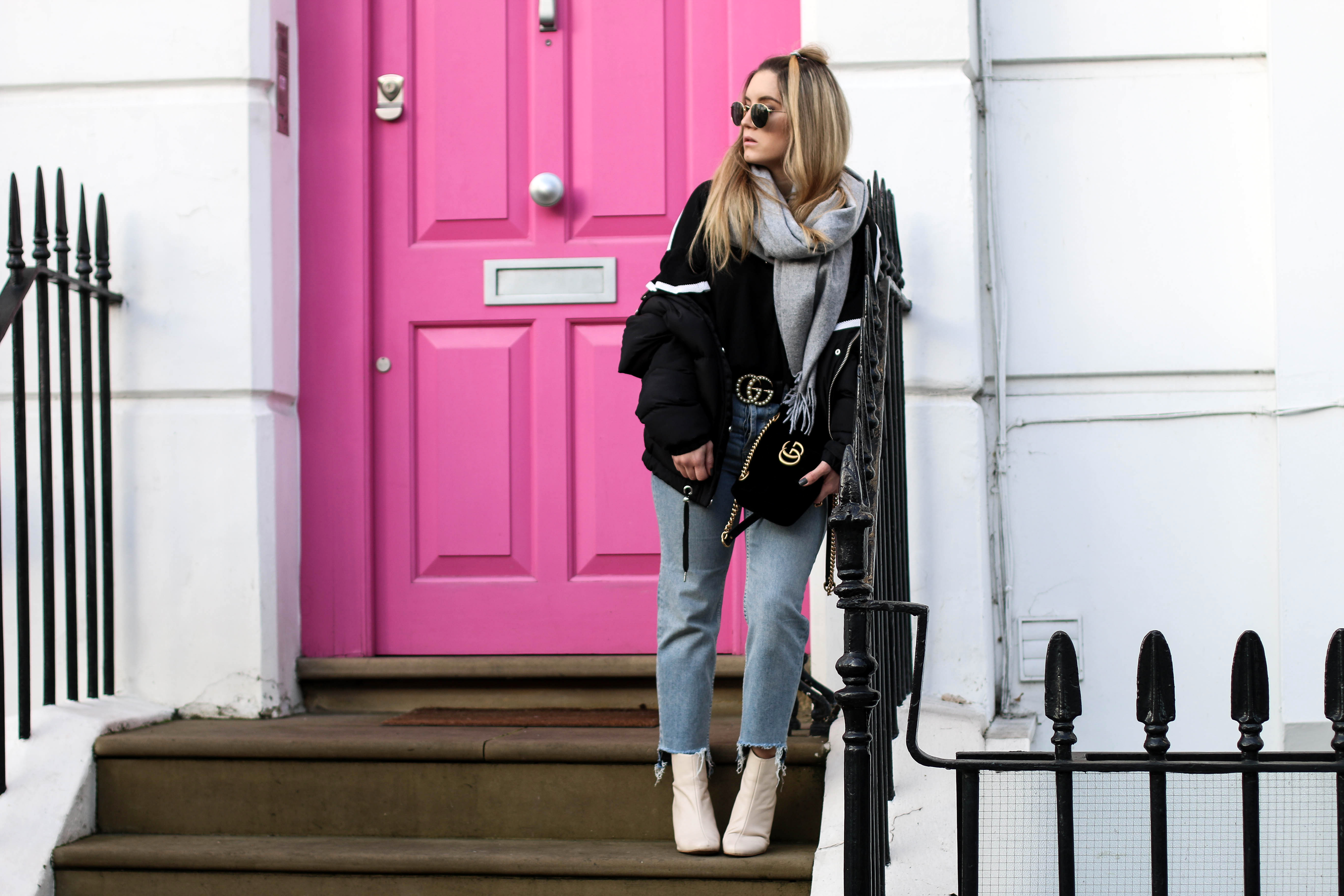 London Travel Diary Pink Door Notting Hill Fashion Blog Travel Blog