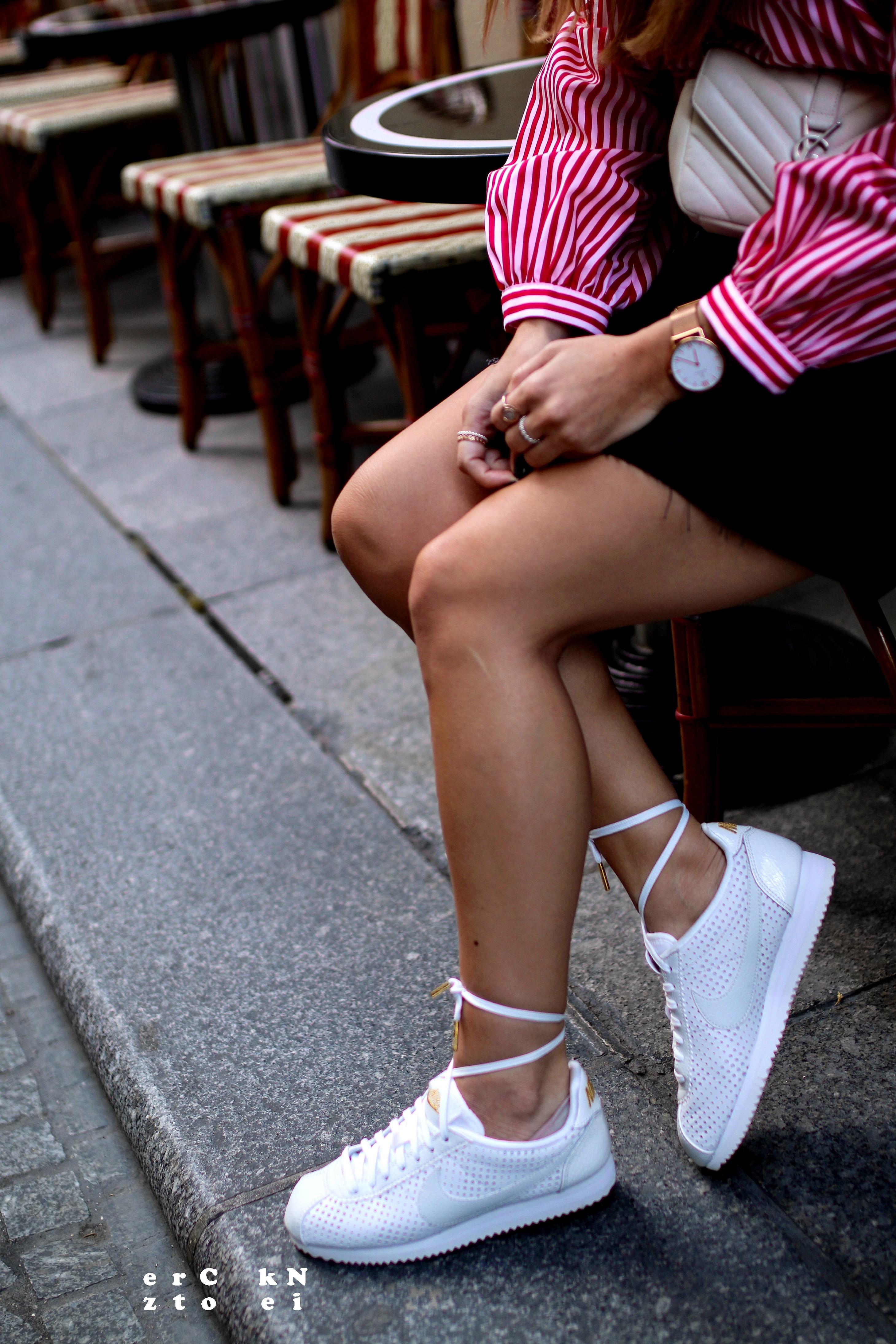 nike cortez inspiration pinterest streetstyle outfit inspo