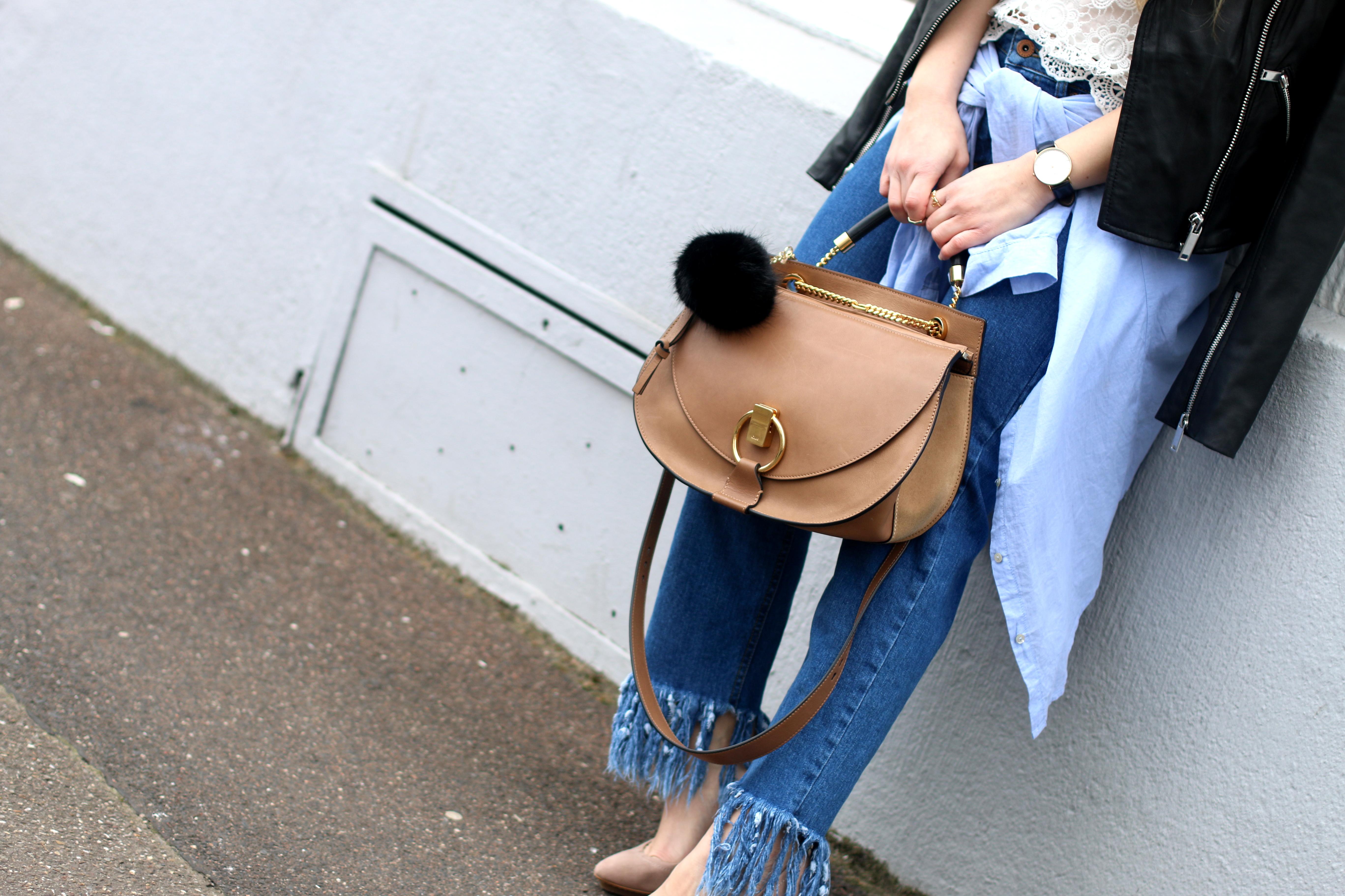 fringed jeans chloe goldie 2