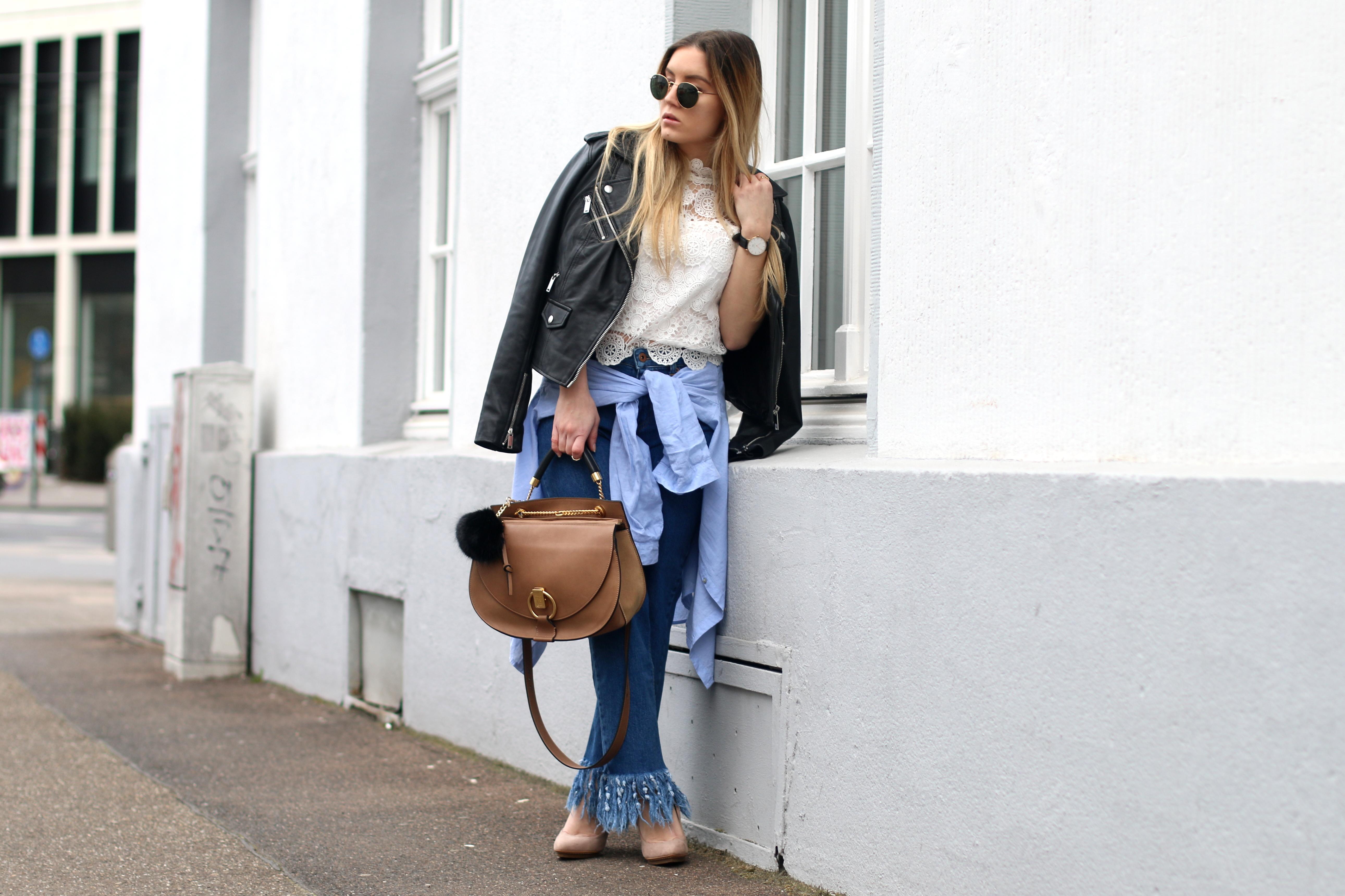 fringed jeans chloe goldie 3
