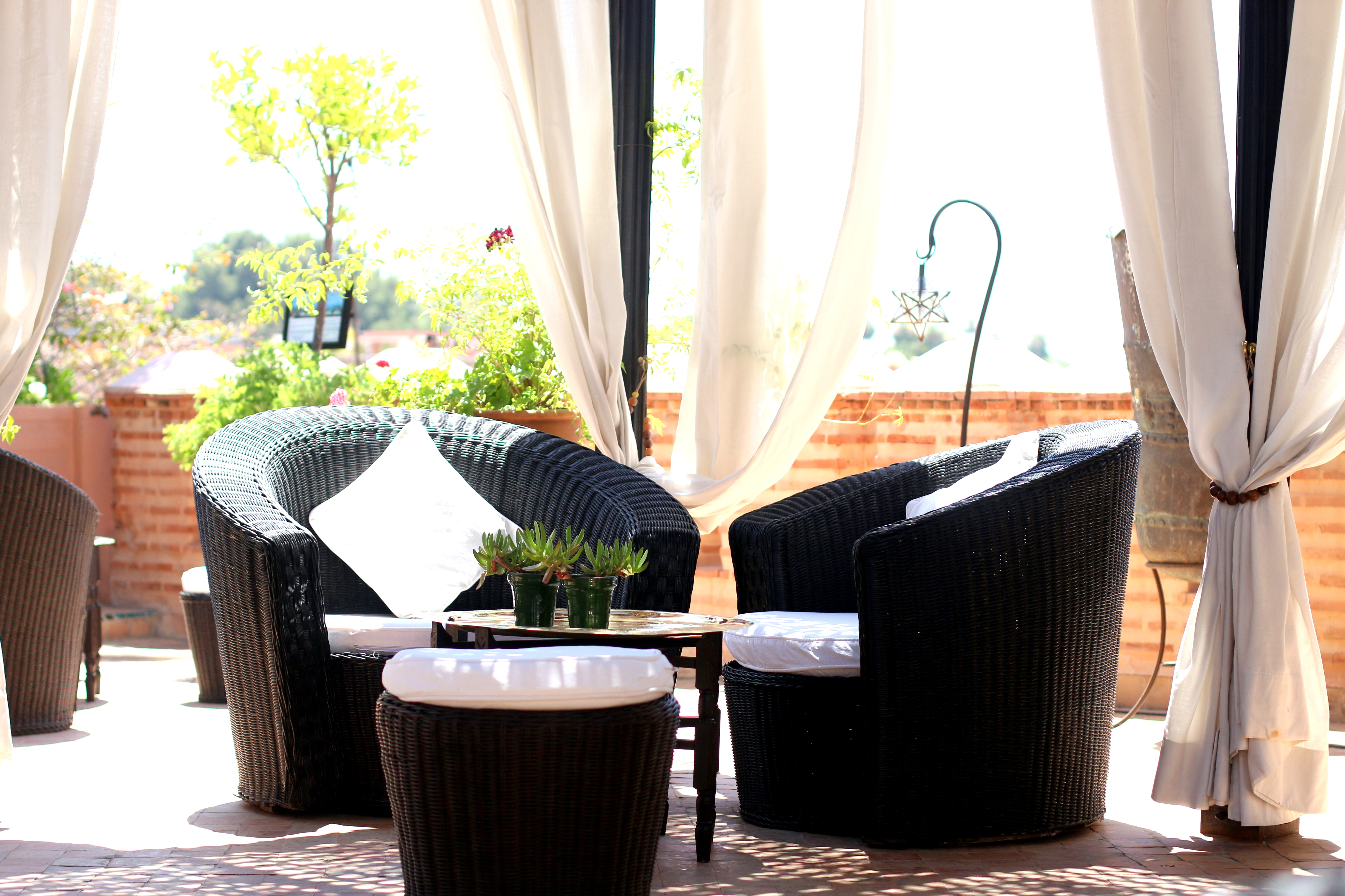 la sultana roofop terrace marrakech hotel travelblog experience