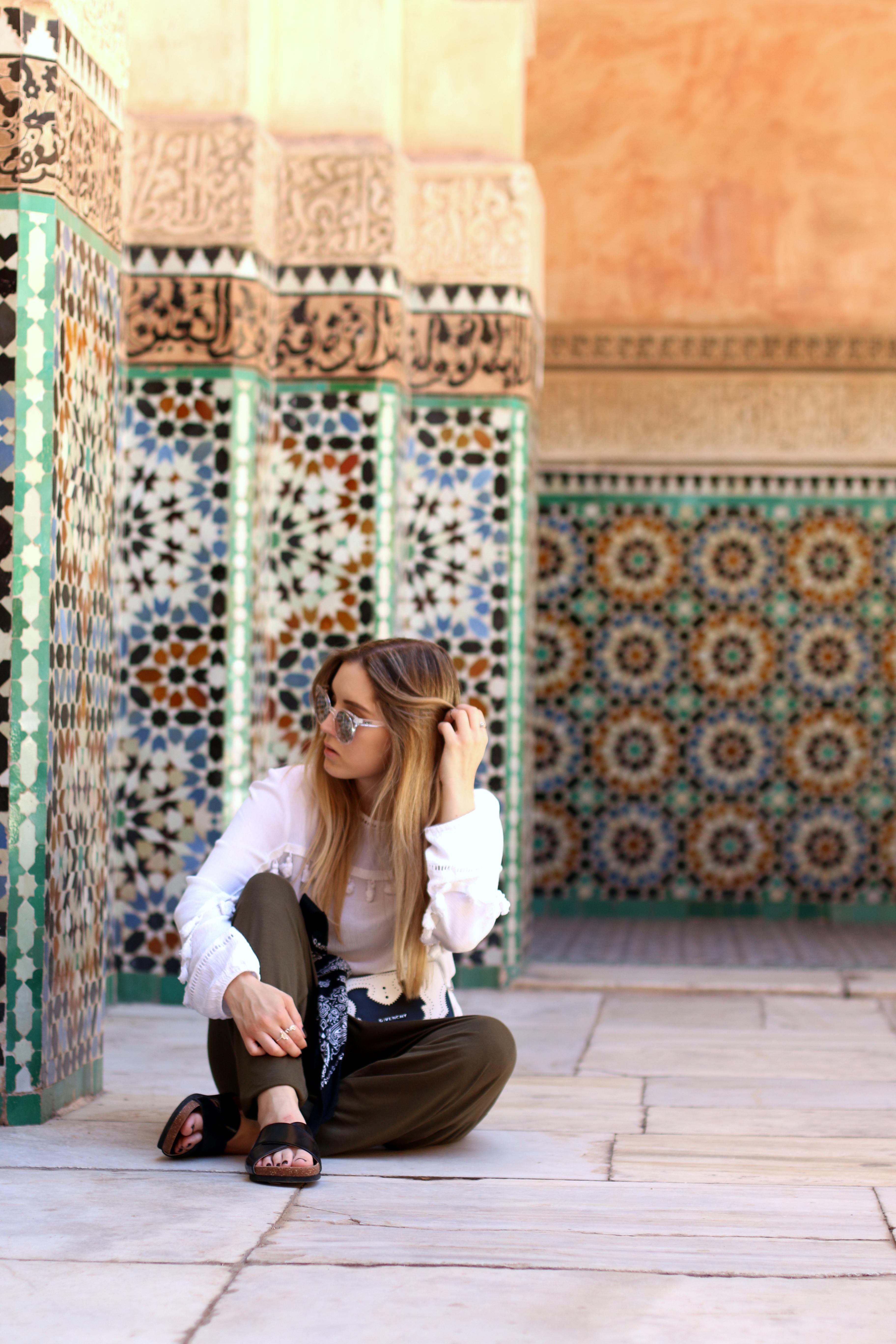 medersa ben youssef marrakesh travelguide travelblog marrakesch traveldiary