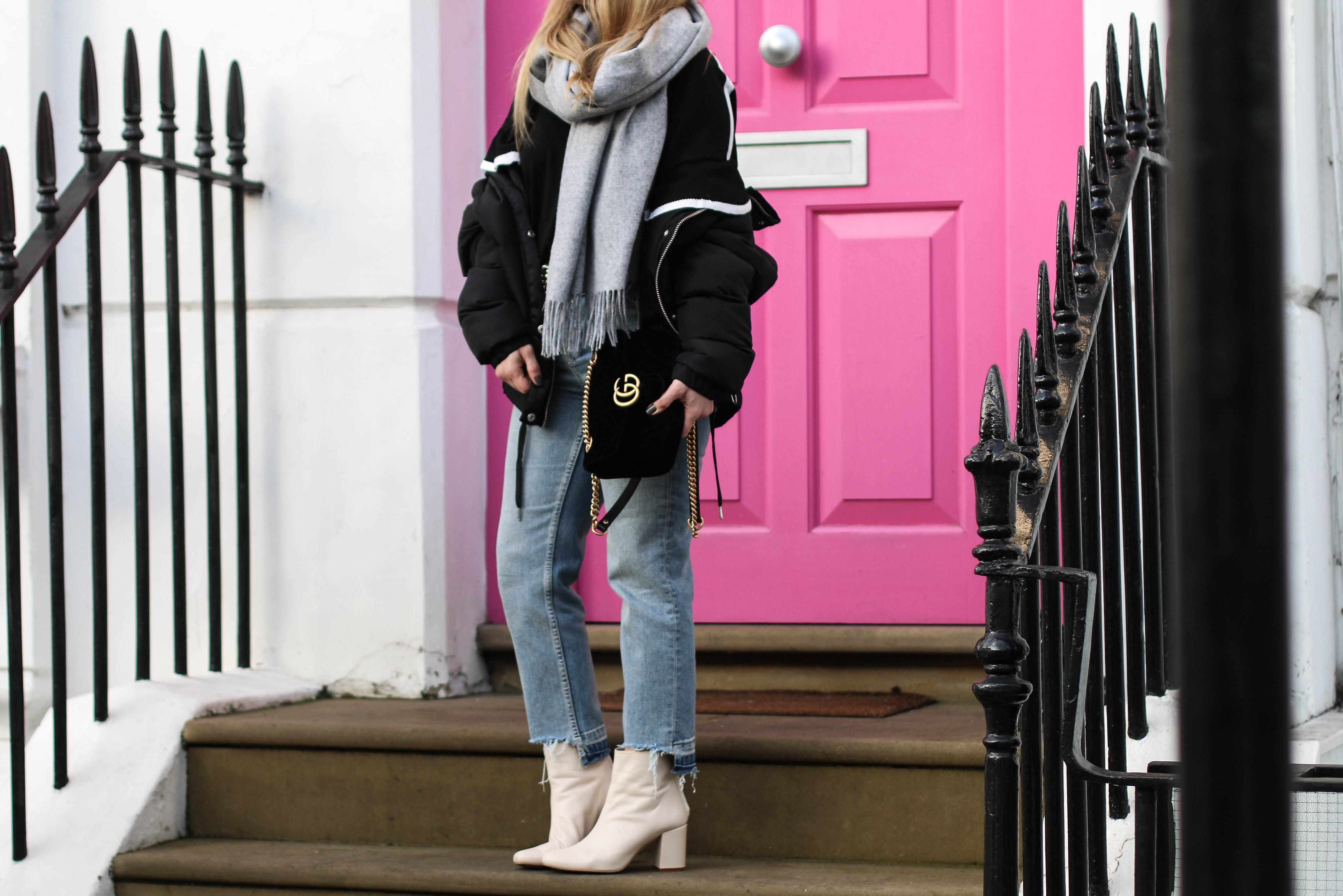 Gucci GG Marmont Velvet Bag pink door Fashiontwinstinct