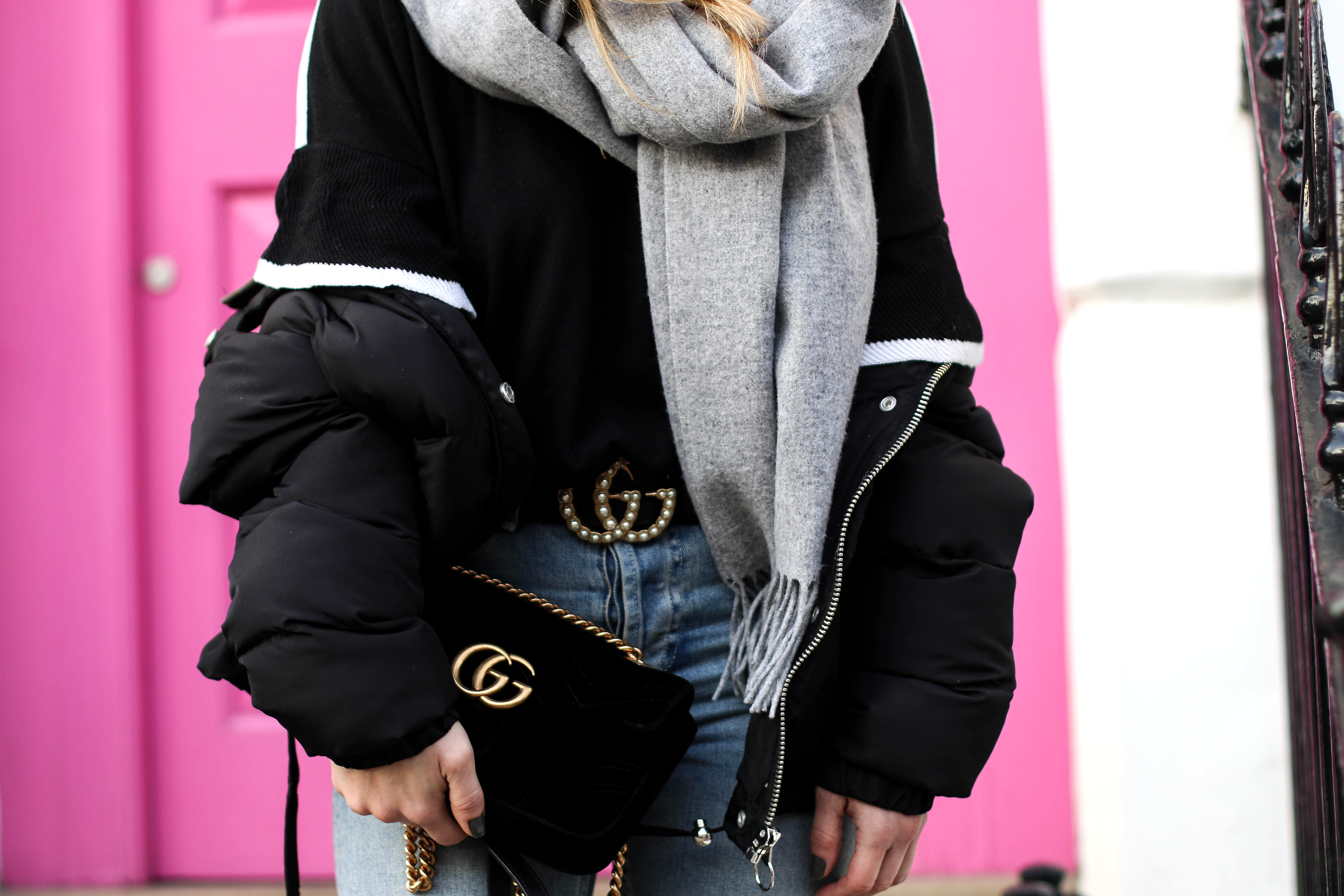 Gucci GG Marmont Bag Gucci Belt Statement sleeves