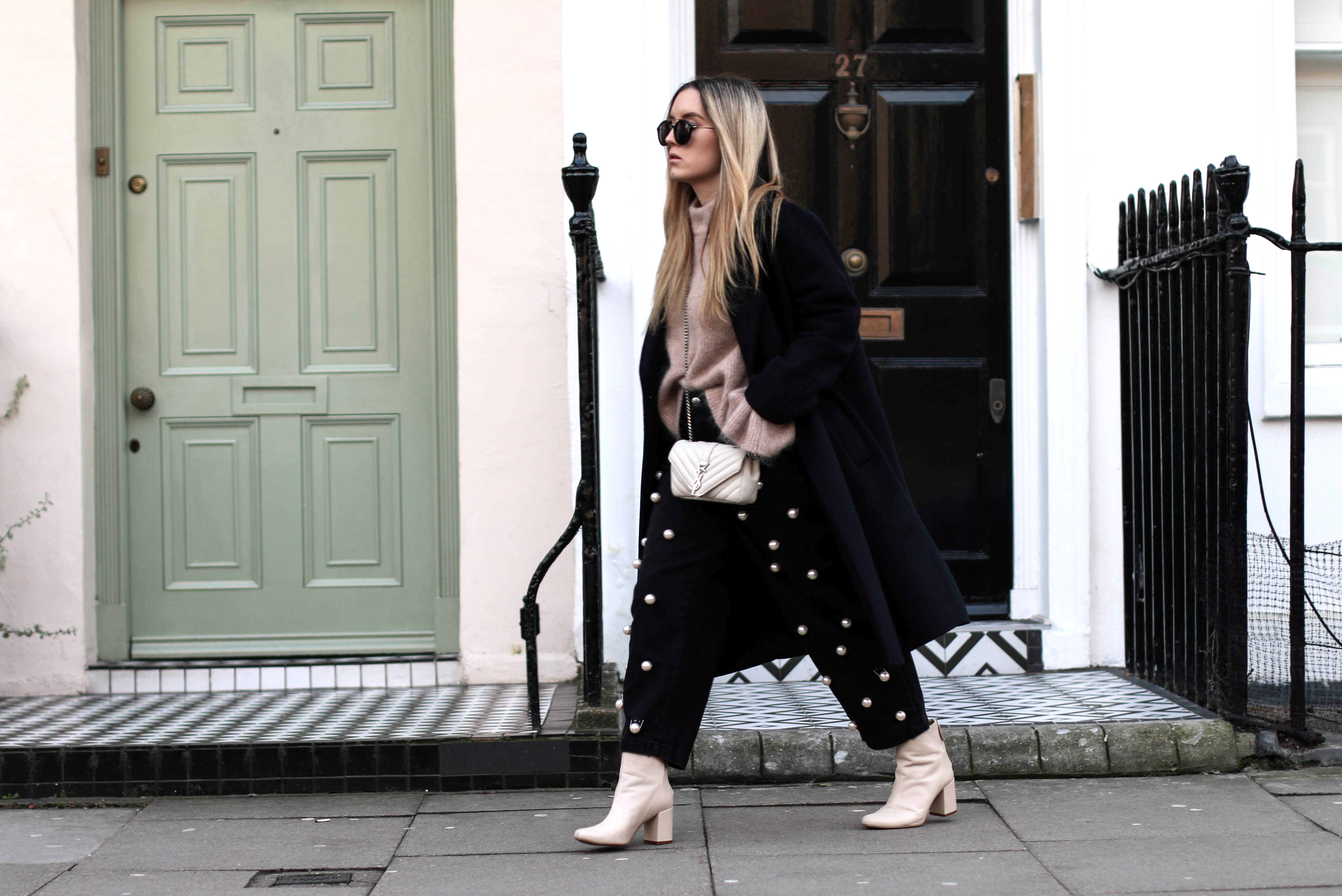 Pearl Jeans Pants Trend London Streetstyle Fashiontwinstinct