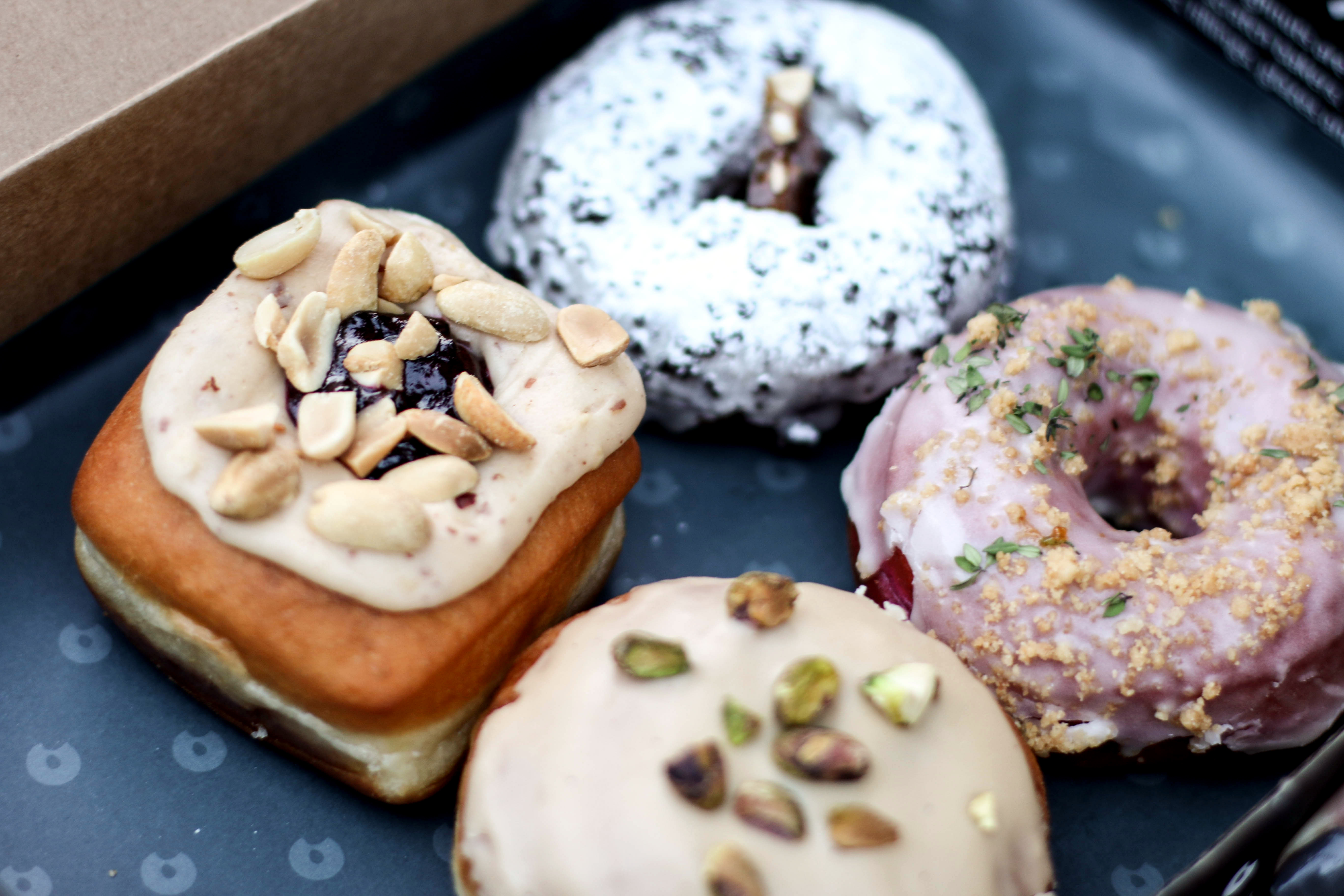 London Travel Diary best Donuts in London Food tips
