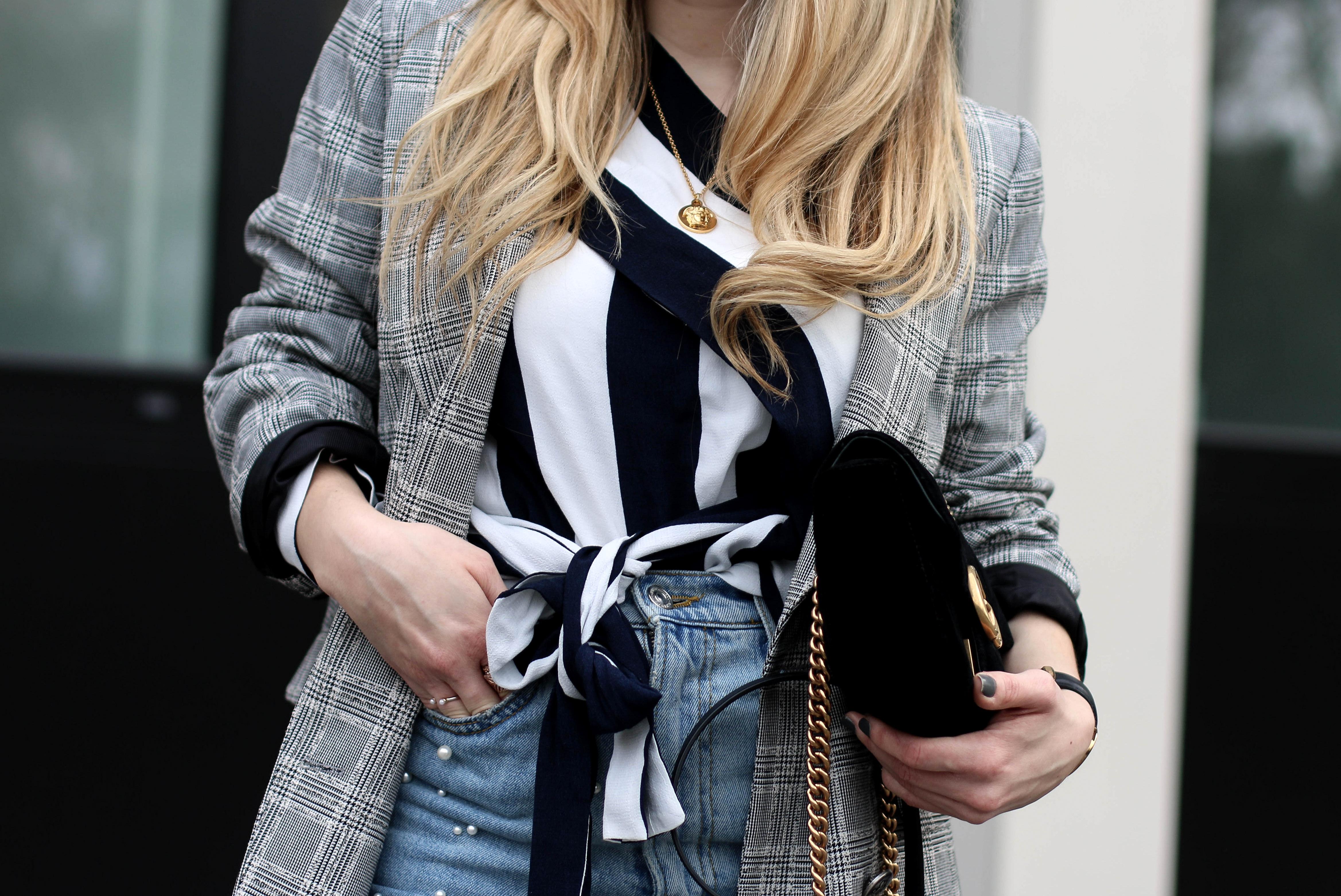 gucci marmont velvet fashion blogger ootd