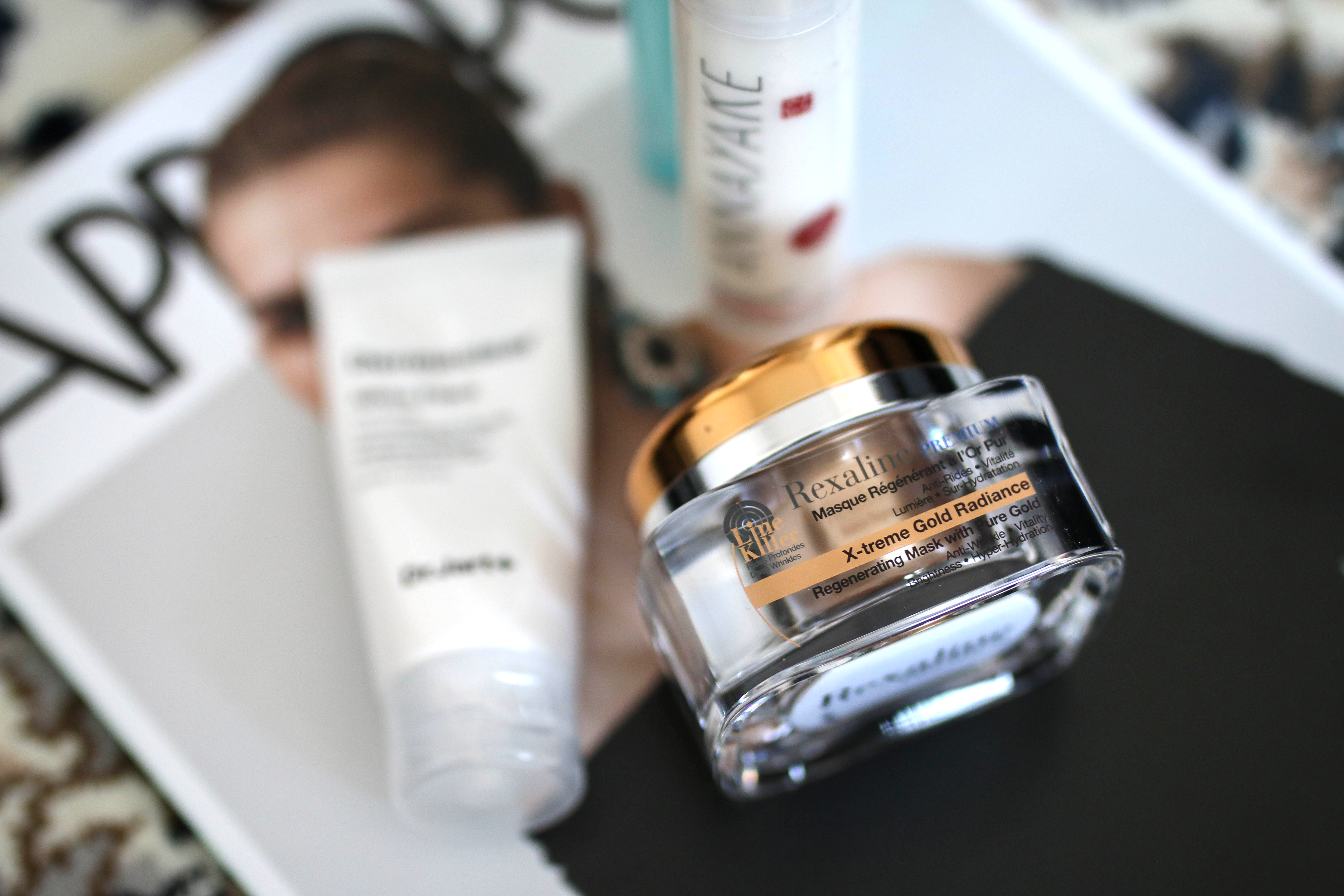 monthly favorites post review rexaline premium regenerating mask with pure gold