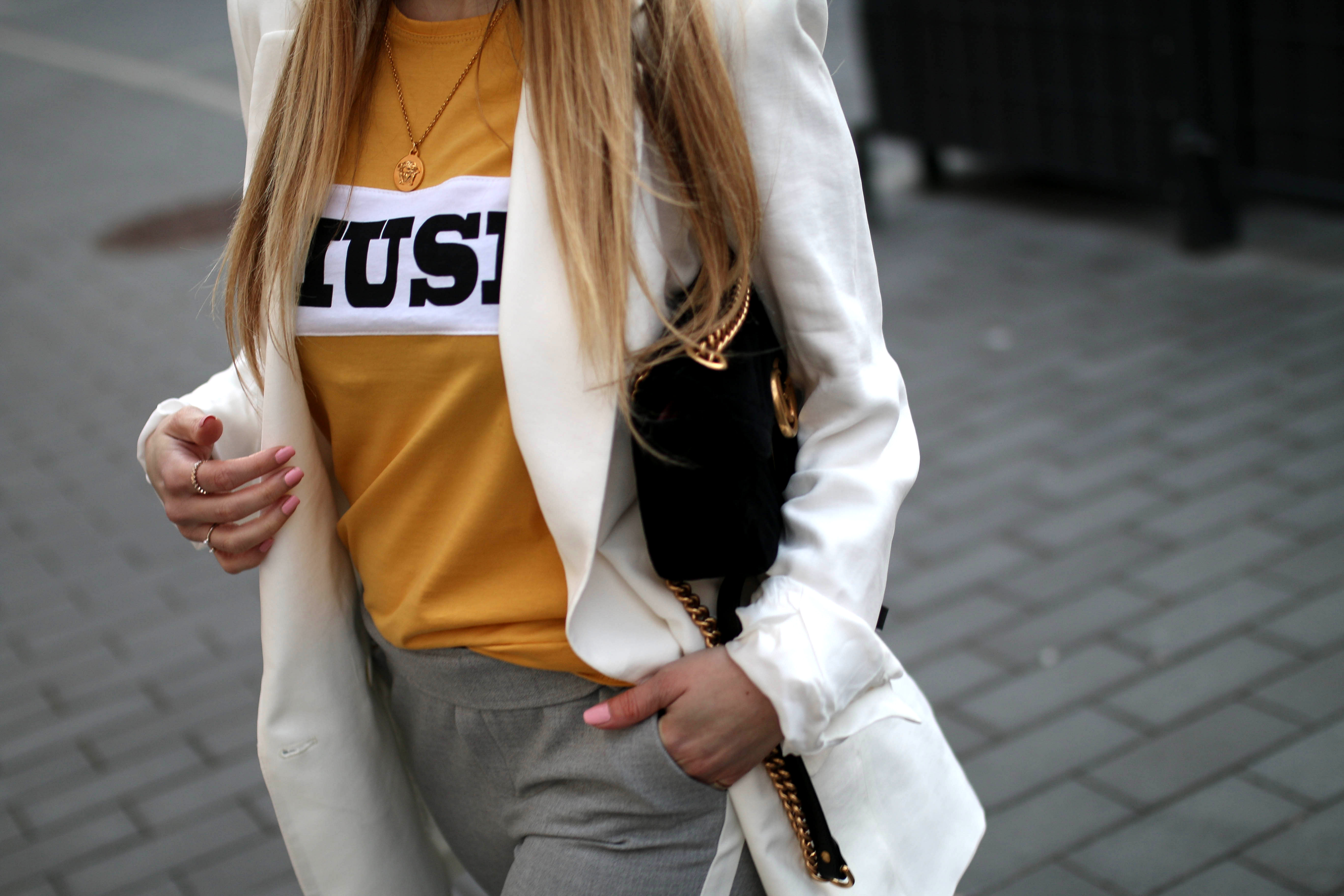 track pants modeblog gucci marmont bag colourful rebel muse shirt