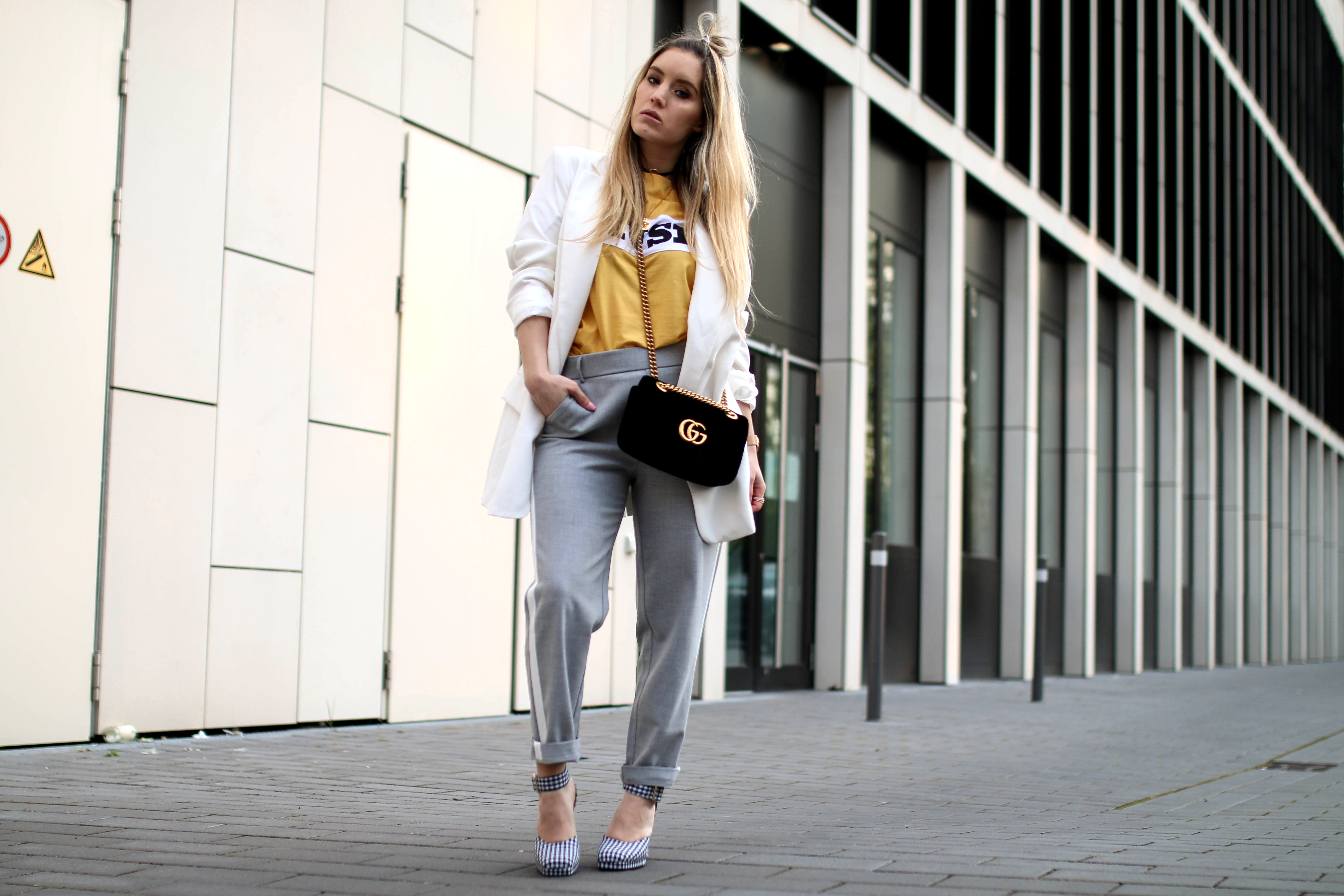 track pants modeblog köln gucci marmont bag