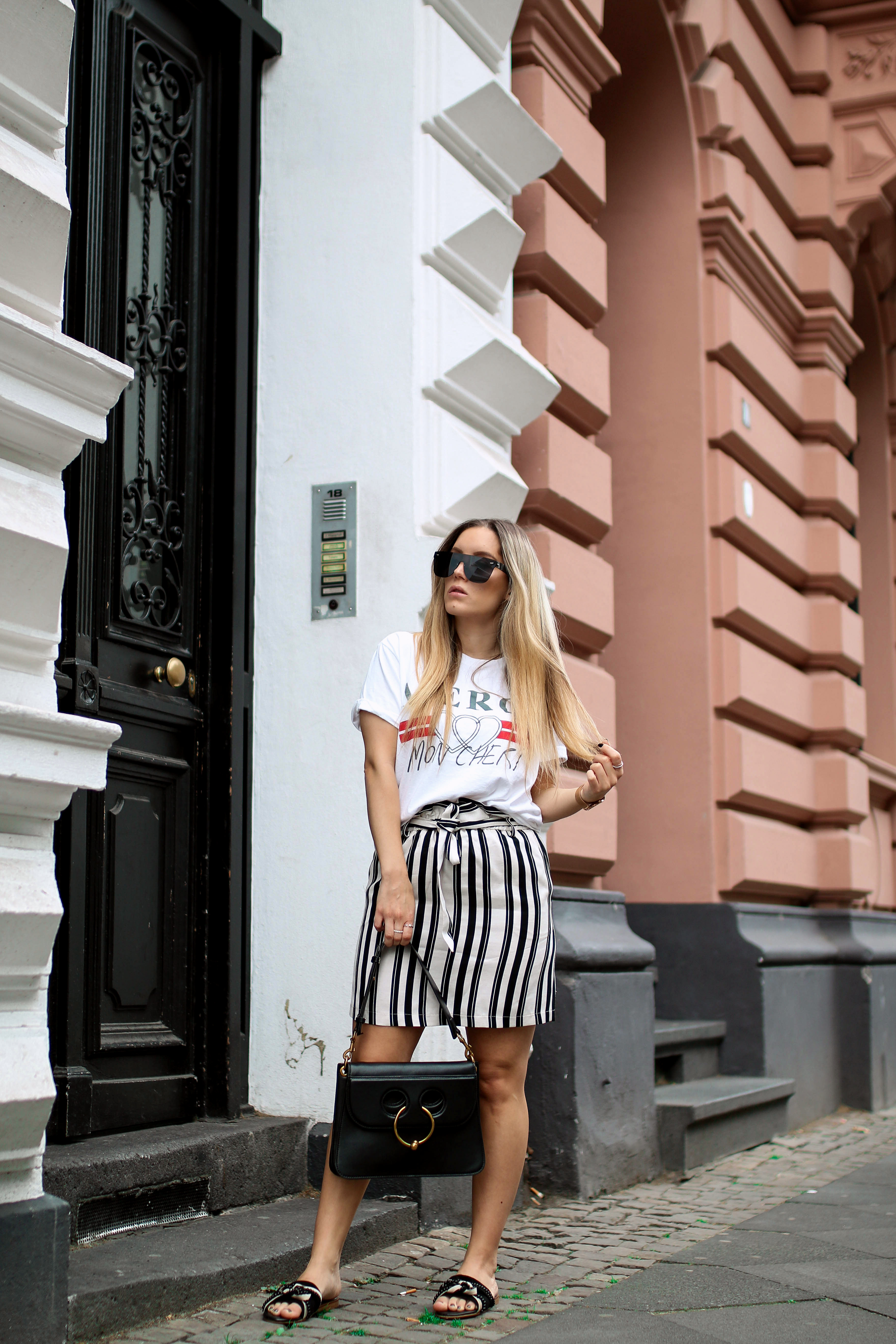 statement shirts gucci shirt lookalike topshop outfit post fashiontwinstinct piercing bag