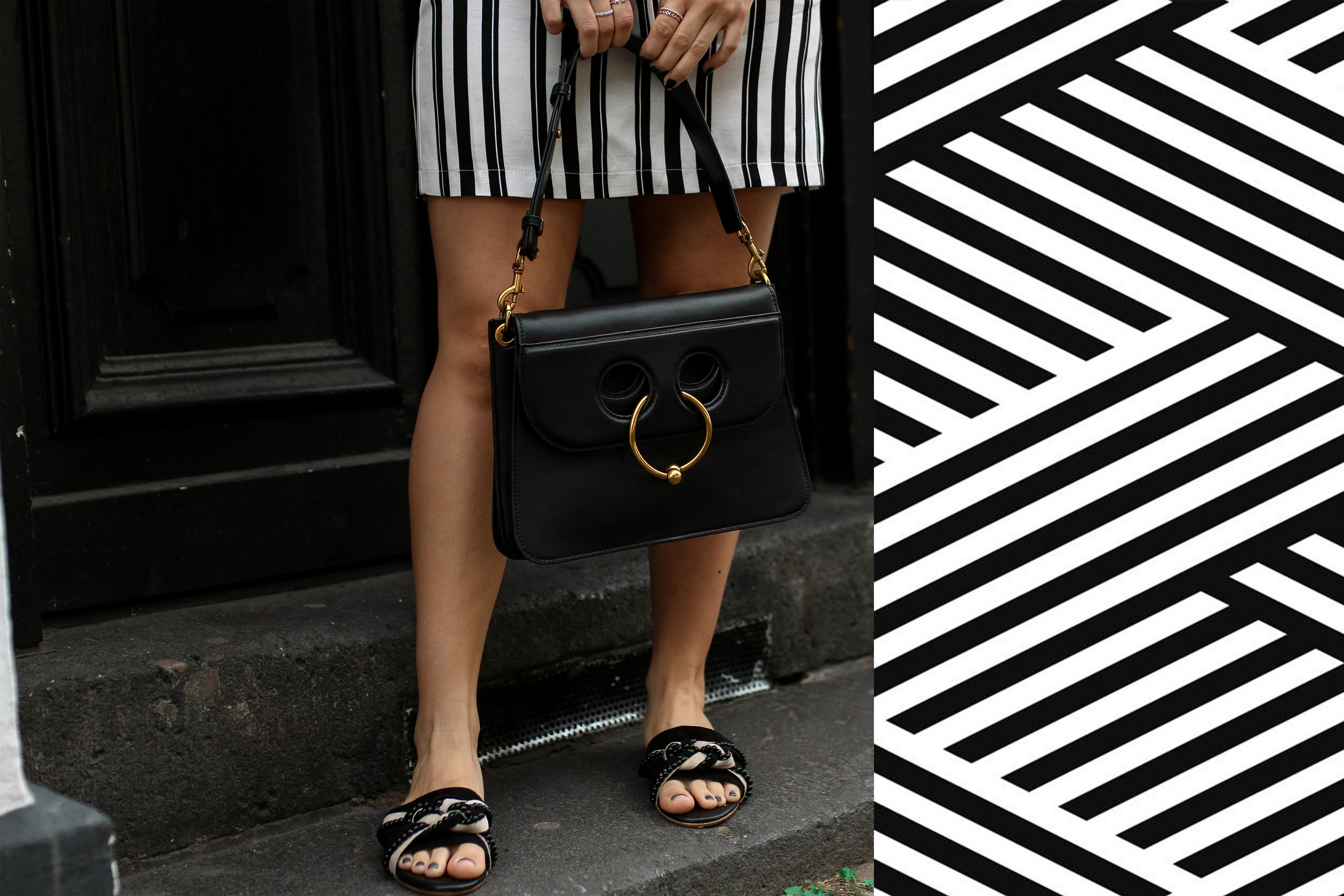 stripes pinterest statement shirts gucci shirt outfit post fashion blog piercing bag