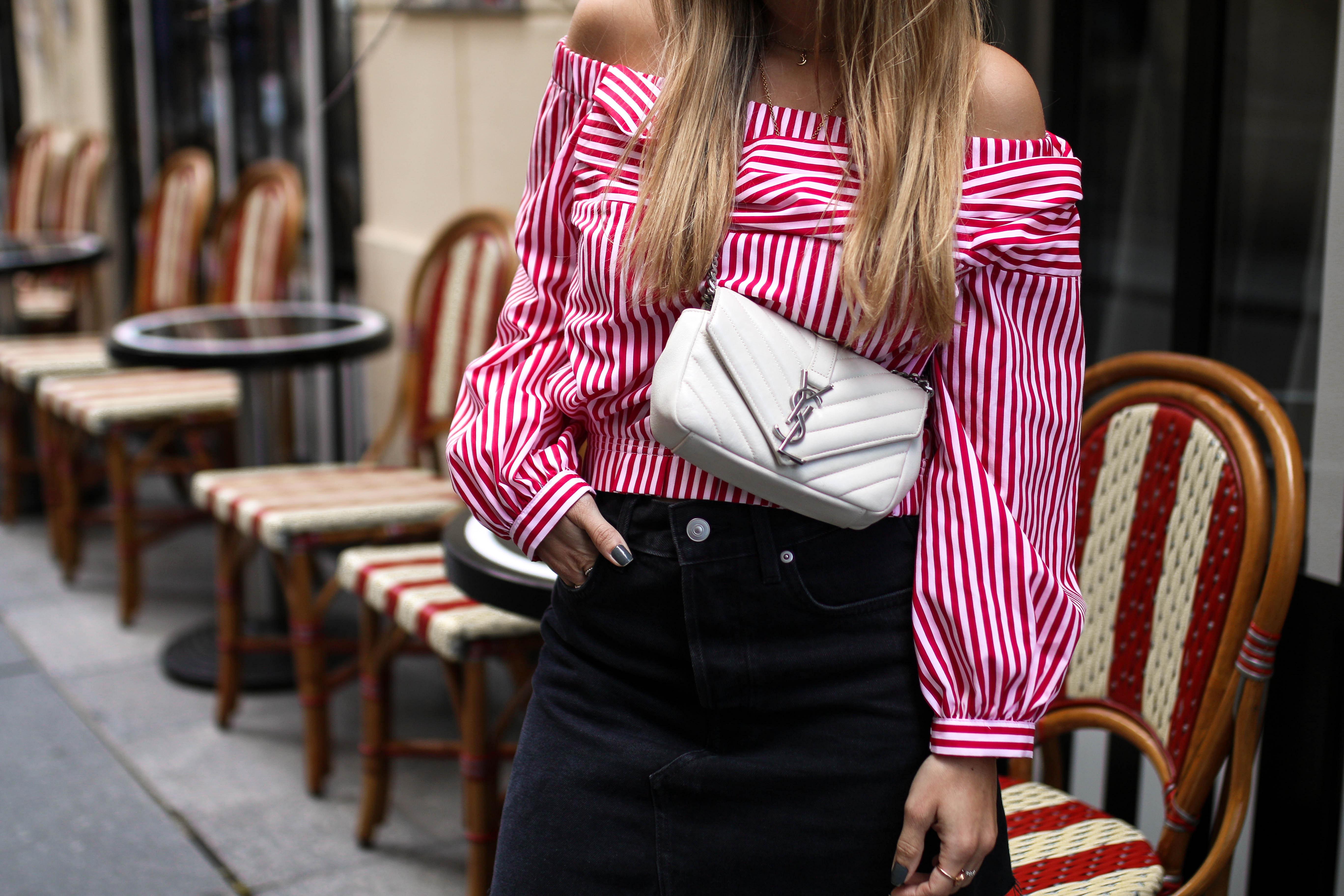 paris streetstyle pinterest inspiration outfit post fashion blog saint laurent bag
