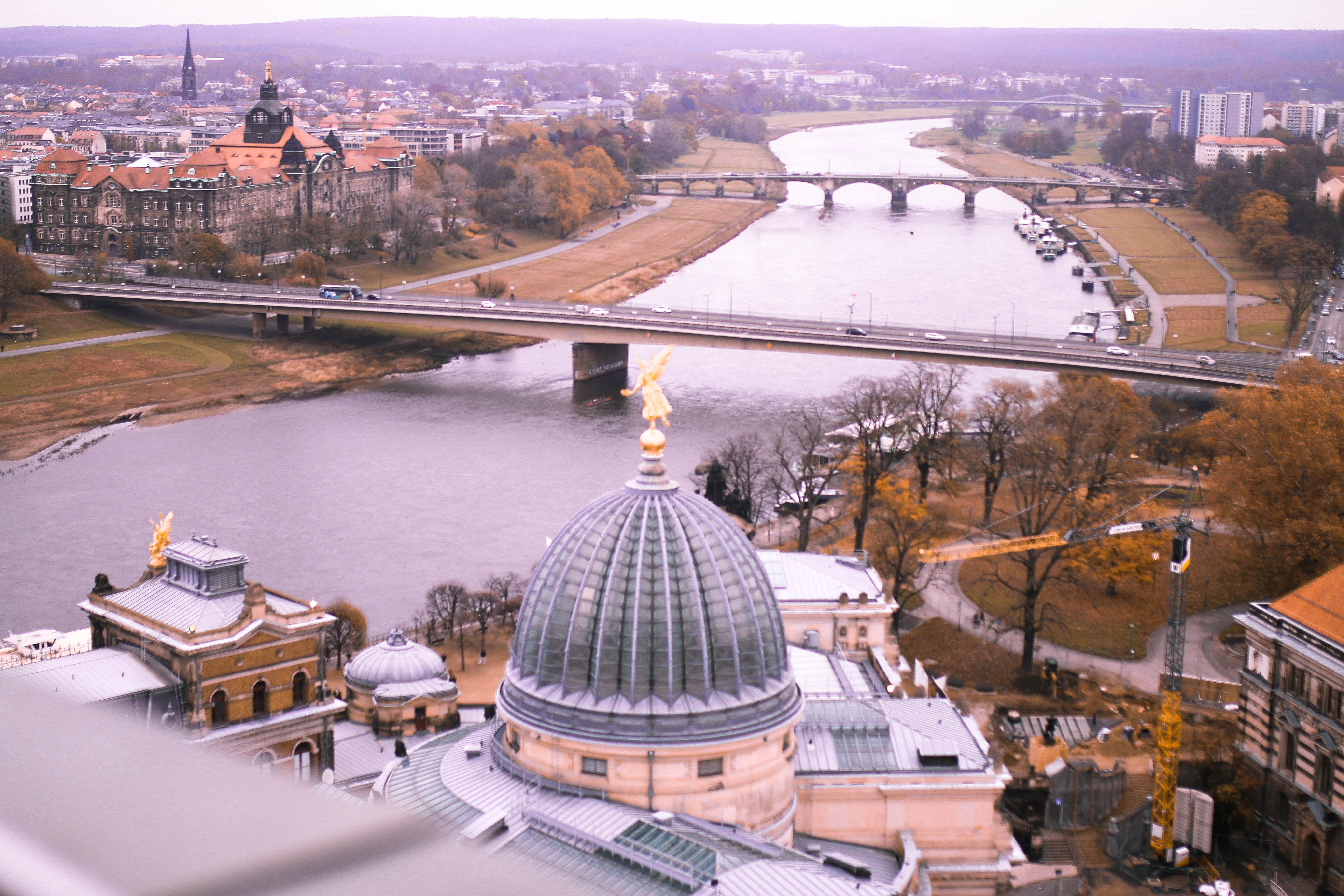 dresden travel diary kuppel frauenkirche ausblick