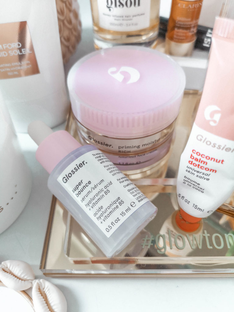 glossier primig moisturizer rich review glossier super bounce serum